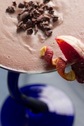 Blood Orange Panna Cotta | Farr Out Fine Art / The Kitchen Witch